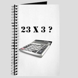 23 x 3? Journal