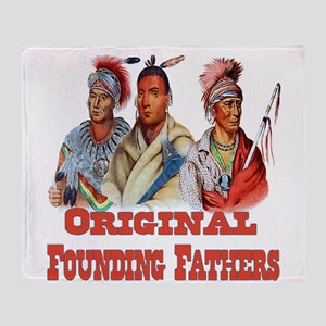 Original Founding Fathers Throw Blanket