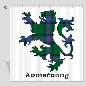 Clan Armstrong Tartan Shower Curtains