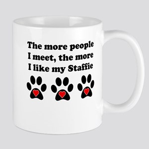 My Staffie Small Mug