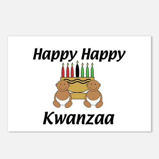 Happy Kwanzaa Postcards (Package of 8)