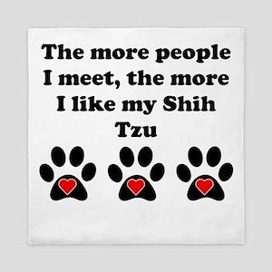 My Shih Tzu Queen Duvet