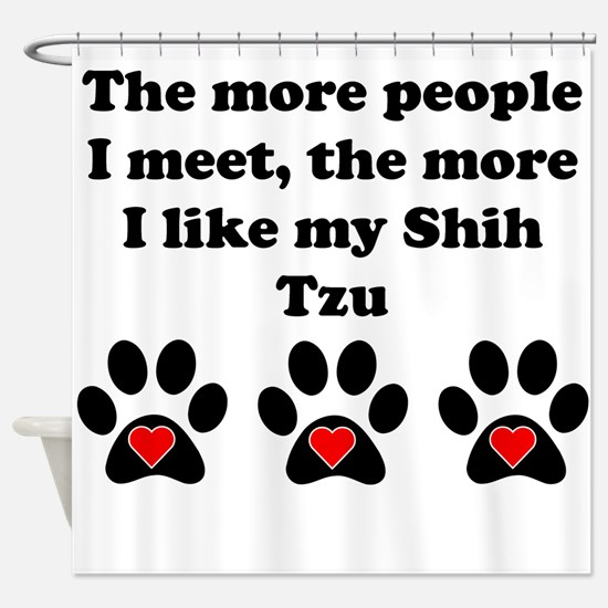 My Shih Tzu Shower Curtain