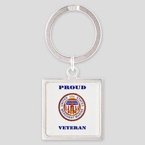 Proud Merchant Marine Veteran Keychains