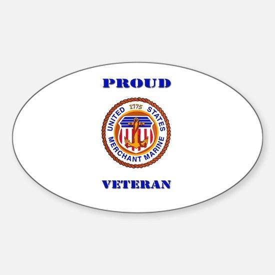 Proud Merchant Marine Veteran Decal