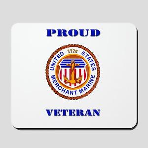 Proud Merchant Marine Veteran Mousepad