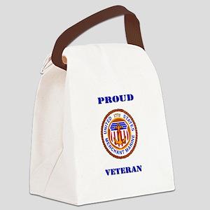 Proud Merchant Marine Veteran Canvas Lunch Bag