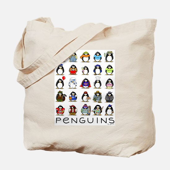 Lots of Penguins Tote Bag