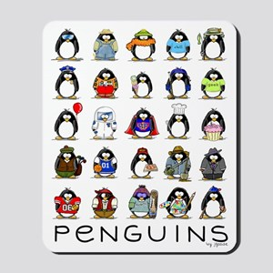 Lots of Penguins Mousepad