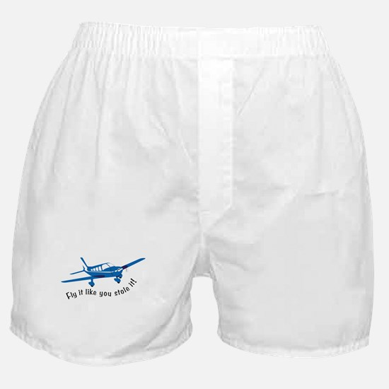 Fly it like you stole it! Boxer Shorts