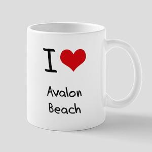 I Love AVALON BEACH Mug