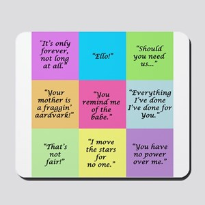 Labyrinth Quotes Mousepad