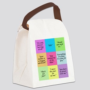 Labyrinth Quotes Canvas Lunch Bag