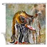 Bear Dancer Shower Curtain