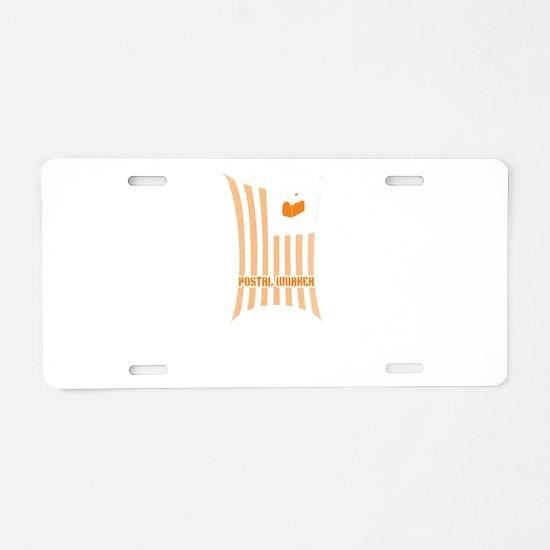 Super Cool Postal Worker Aluminum License Plate