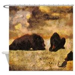 Bear Cubs Shower Curtain