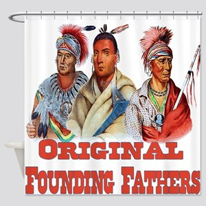 Original Founding Fathers Shower Curtain