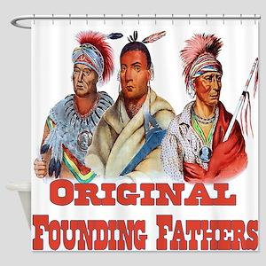 Original Founding Fathers Shower Curtain