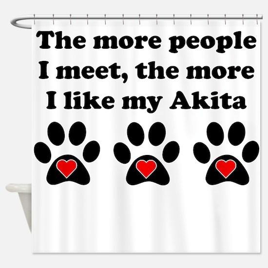 My Akita Shower Curtain