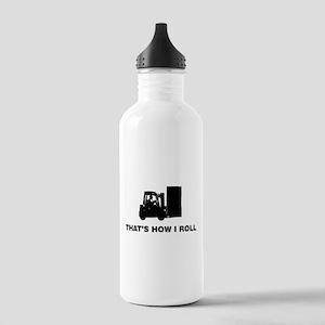 Forklift Operator Stainless Water Bottle 1.0L