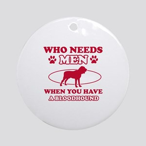 Bloodhound mommy designs Ornament (Round)