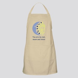 You are my sun, moon and stars Light Apron