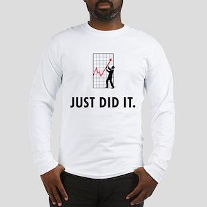 Financial Trader Long Sleeve T-Shirt