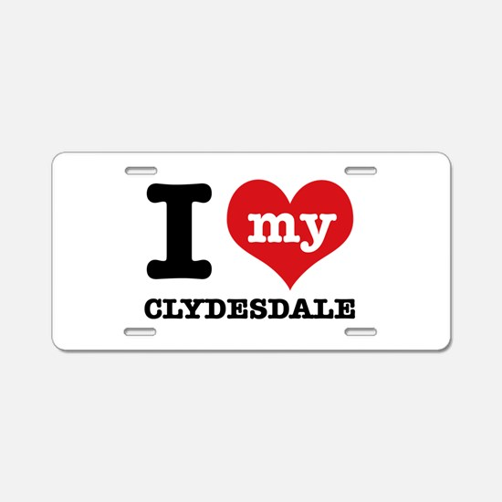I love my Cyldesdale Aluminum License Plate