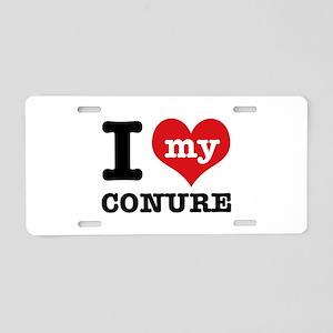 I love my Conure Aluminum License Plate