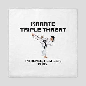 ABH Karate Slogan Queen Duvet