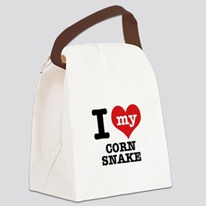 I love my Corn Snake Canvas Lunch Bag