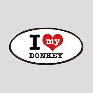 I love my Donkey Patches