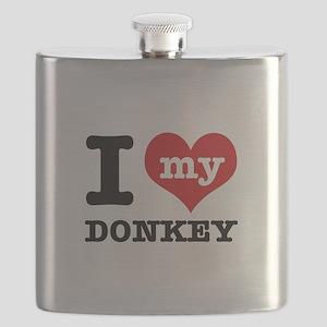 I love my Donkey Flask