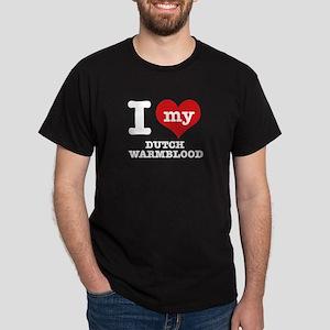 I love my Dutch Warmblood Dark T-Shirt