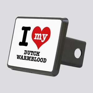 I love my Dutch Warmblood Rectangular Hitch Cover