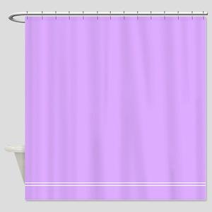 Lilac Purple Shower Curtain