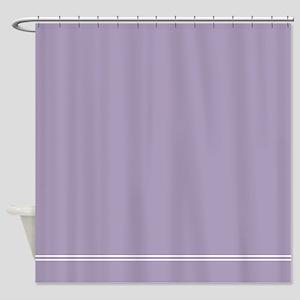 Heather Lavender Purple Shower Curtain