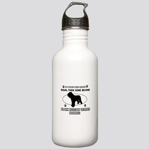 Black Russian Terrier mommy gifts Stainless Water
