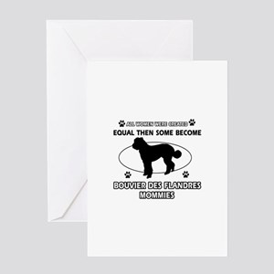 Bouvier Des Flandres mommy gifts Greeting Card