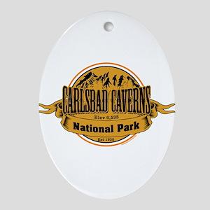 carlsbad caverns 2 Ornament (Oval)