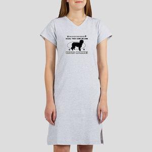Briard mommy gifts Women's Nightshirt