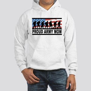 Proud Army Mom Hooded Sweatshirt
