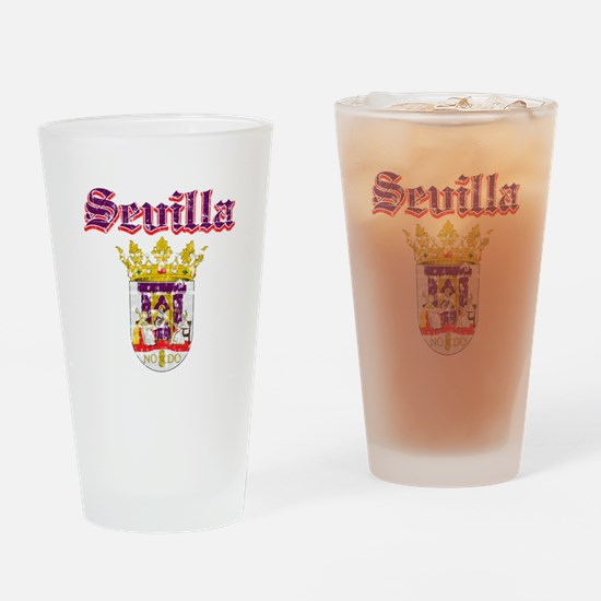 Sevilla City Designs Drinking Glass