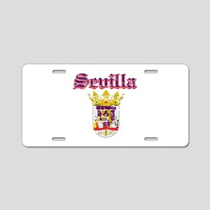 Sevilla City Designs Aluminum License Plate