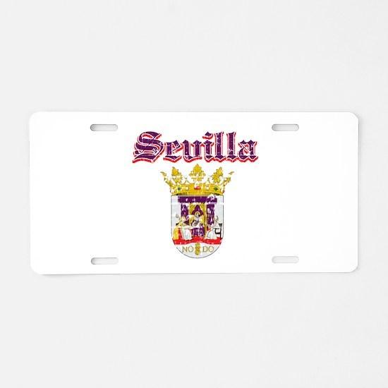 Sevilla City Designs Aluminum License Plate