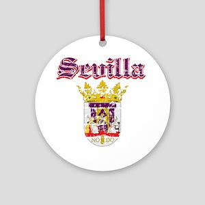 Sevilla City Designs Ornament (Round)