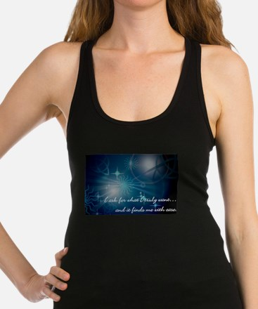What I Want Racerback Tank Top