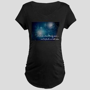 What I Want Maternity Dark T-Shirt