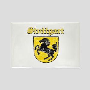 Stuttgart City Designs Rectangle Magnet