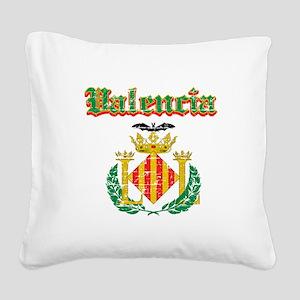 Valencia City Designs Square Canvas Pillow